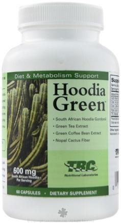 DROPPED: TRC Nutritional Labs - Hoodia Green 600mg CLEARANCE PRICED - 60 Capsules