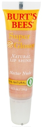 DROPPED: Burt's Bees - Natural Lip Shine Super Glossy Nectar Nude - 0.5 oz. CLEARANCE PRICED