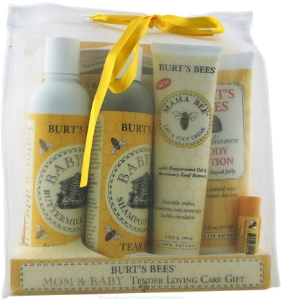 DROPPED: Burt's Bees - Mom and Baby Tender Loving Care Gift Set - 1 Gift Set