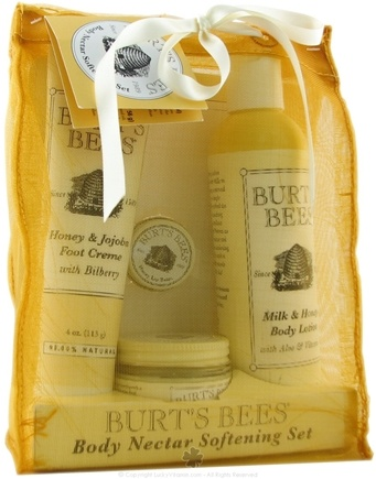 DROPPED: Burt's Bees - Body Nectar Softening Set - 1 Gift Set