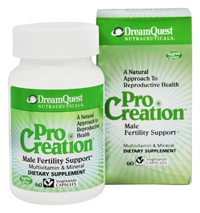 Dream Quest Nutraceuticals - ProCreation Male Fertility Support - 60 Vegetarian Capsules