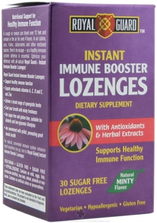 DROPPED: Dream Quest Nutraceuticals - Royal Guard Instant Immune Booster Mint - 30 Lozenges CLEARANCE PRICED