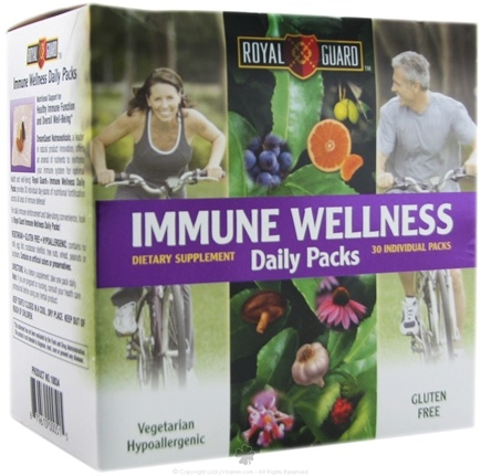 DROPPED: Dream Quest Nutraceuticals - Royal Guard Immune Wellness Daily - 30 Pack(s) CLEARANCE PRICED