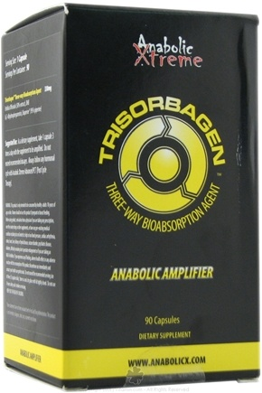 DROPPED: Anabolic Xtreme - Trisorbagen Anabolic Amplifier - 90 Capsules CLEARANCE PRICED