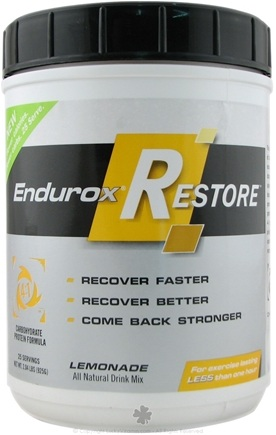 DROPPED: Endurox - Restore Natural Drink Mix Lemonade - 2.04 lbs.