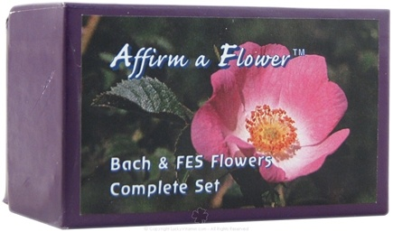 DROPPED: Flower Essence Services - Affirm A Flower Complete Set of Bach & FES Flowers - 1 Box(s)