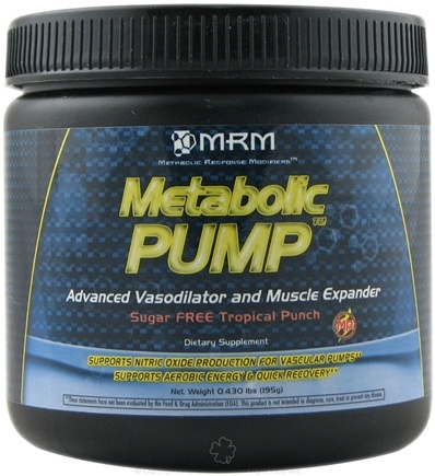 DROPPED: MRM - Metabolic Pump Advanced Vasodilator and Muscle Expander Tropical Punch - 0.43 lb.