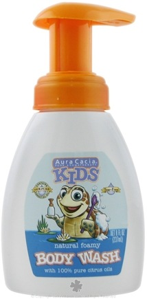 DROPPED: Aura Cacia - Kids Natural Foamy Body Wash - 8 oz. CLEARANCE PRICED