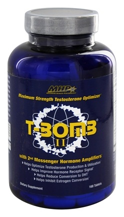 DROPPED: MHP - T-Bomb II Maximum Strength Testosterone Formula - 168 Tablets
