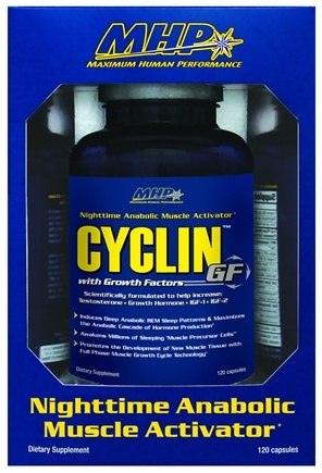 DROPPED: MHP - Cyclin GF Nighttime Anabolic Muscle Activator - 120 Capsules