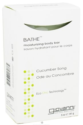 Giovanni - Bathe Moisturizing Body Bar Soap Cucumber Song - 5.3 oz.