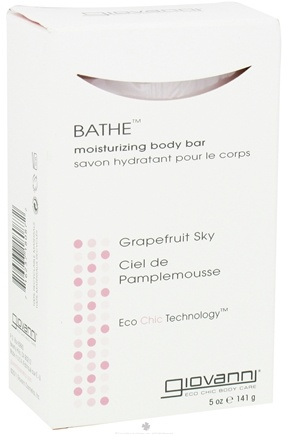 DROPPED: Giovanni - Bathe Moisturizing Body Bar Soap Grapefruit Sky - 5 oz.