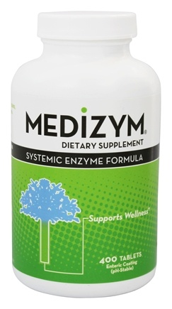 DROPPED: Naturally Vitamins - Medizym Systemic Enzyme Formula - 400 Tablets