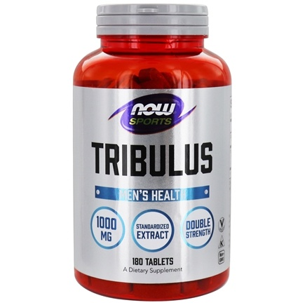 NOW Foods - Tribulus 1000 mg. - 180 Tablets
