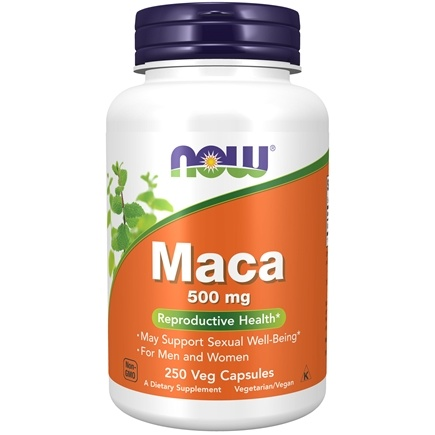 NOW Foods - Maca 500 mg. - 250 Capsules