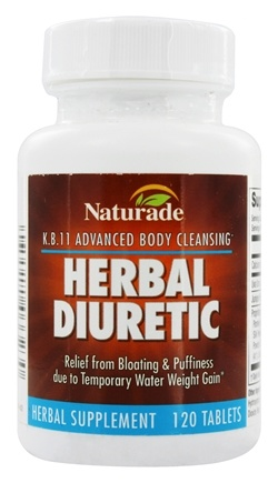 Naturade - Herbal Diuretic K.B. 11 - 120 Tablets
