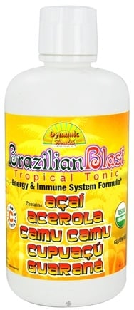 DROPPED: Dynamic Health - Brazilian Blast Tropical Tonic - 32 oz. CLEARANCE PRICED