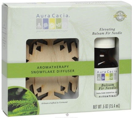 DROPPED: Aura Cacia - Aromatherapy Snowflake Diffuser Kit (3 oz.) CLEARANCE PRICED
