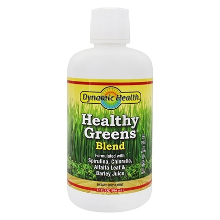 Dynamic Health - Healthy Greens Liquid - 32 oz.