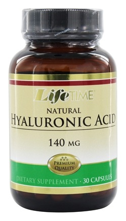 LifeTime Vitamins - Hyaluronic Acid 140 mg. - 30 Capsules
