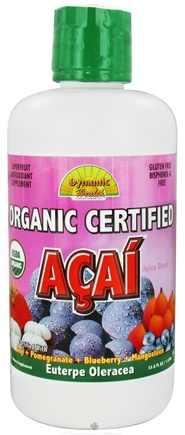 DROPPED: Dynamic Health - Organic Acai Juice Blend - 33.8 oz.