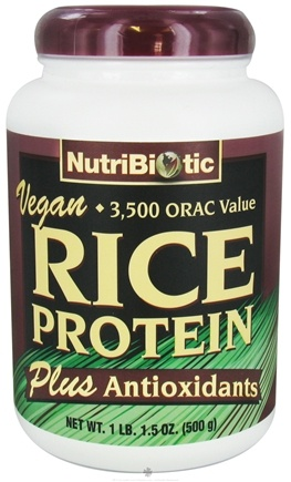 DROPPED: Nutribiotic - Vegan Rice Protein Plus Antioxidants - 1 lb.