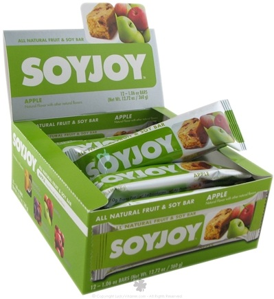 DROPPED: SoyJoy - All Natural Baked Whole Soy & Fruit Bar Apple - 1.05 oz.