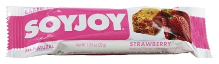 DROPPED: SoyJoy - All Natural Baked Whole Soy & Fruit Bar Strawberry - 1.05 oz.