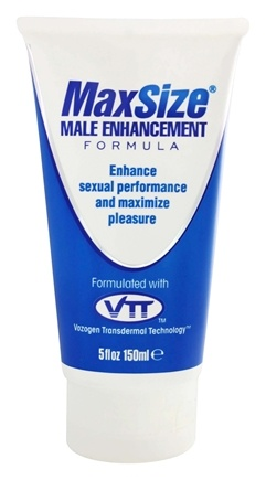 MD Science Lab - Max Size Male Enhancement Formula with VTT - 5 oz.