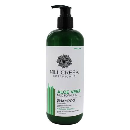 Mill Creek Botanicals - Aloe Vera Shampoo Mild, Everyday Formula - 16 oz.