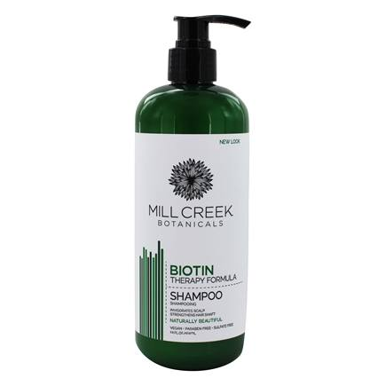 Mill Creek Botanicals - Biotin Shampoo Therapy Formula - 16 oz.