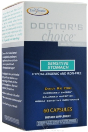 DROPPED: Enzymatic Therapy - Doctors Choice Sensitive Stomach - 60 Capsules