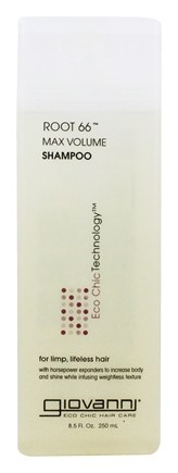 Giovanni - Shampoo Root 66 Max Volume For Limp Lifeless Hair - 8.5 oz.