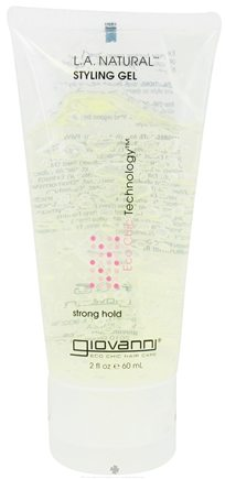 Giovanni - L.A. Natural Styling Gel Strong Hold Travel Size - 2 oz.