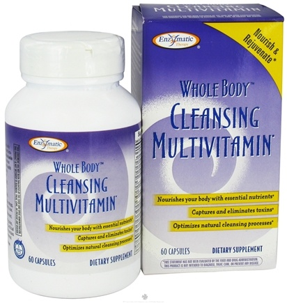 DROPPED: Enzymatic Therapy - Whole Body Cleansing Multivitamin - 60 Capsules
