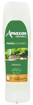 DROPPED: Mill Creek Botanicals - Amazon Organics Facial Cleanser Refresh - 6 oz. CLEARANCE PRICED