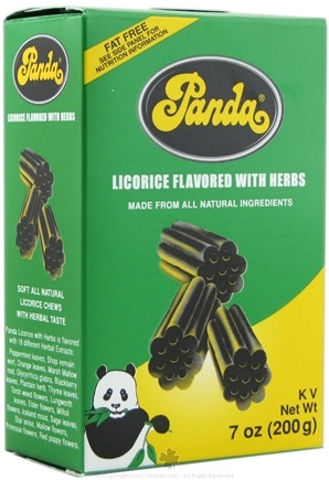 DROPPED: Panda - Licorice Soft Chews With Herbs - 7 oz.