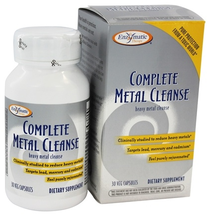 DROPPED: Enzymatic Therapy - Complete Metal Cleanse Heavy Metal Cleanse - 30 Ultracap(s)