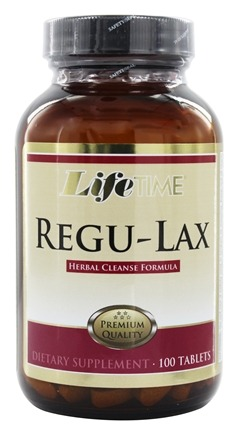 LifeTime Vitamins - ReguLax Natural Herbal Laxative - 100 Tablets