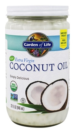 Garden of Life - Extra Virgin Coconut Oil - 32 oz.