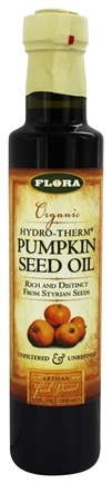 Flora - Organic Hydro-Term Pumpkin Seed Oil - 8.5 oz.