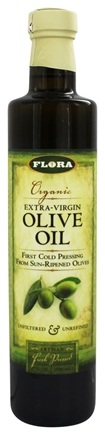 Flora - Organic Extra-Virgin Olive Oil - 17 oz.