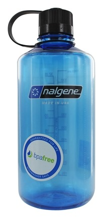 Nalgene - Everyday Tritan BPA Free Narrowmouth Water Bottle Slate Blue - 32 oz.