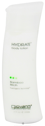 DROPPED: Giovanni - Hydrate Body Lotion Travel Size Bamboo Birch - 2 oz. CLEARANCE PRICED