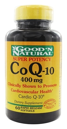 DROPPED: Good 'N Natural - CoQ-10 400 mg. - 60 Softgels