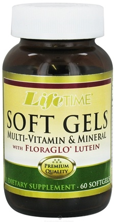 DROPPED: LifeTime Vitamins - Soft Gels Multi Vitamin & Minerals - 60 Softgels
