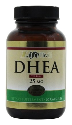 DROPPED: LifeTime Vitamins - DHEA 25 mg. - 60 Capsules CLEARANCE PRICED