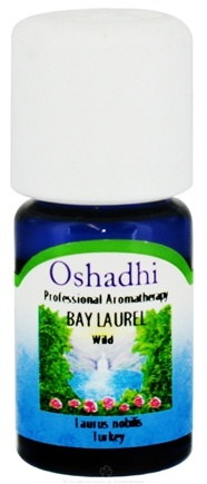 DROPPED: Oshadhi - Professional Aromatherapy Bay Laurel Wild Essential Oil - 5 ml. CLEARANCE PRICED