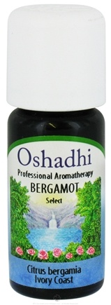 DROPPED: Oshadhi - Professional Aromatherapy Bergamot Select Essential Oil - 10 ml.