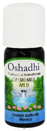 DROPPED: Oshadhi - Professional Aromatherapy Wild Chamomile Essential Oil - 10 ml. CLEARANCE PRICED
